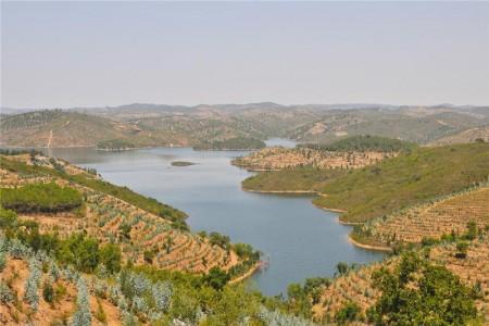 Santa Clara Dam Photo